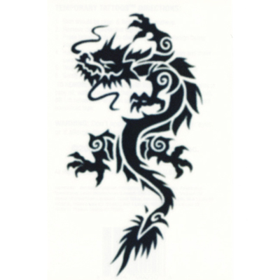 Tribal Tattoo Dragon design Tribal Dragon design