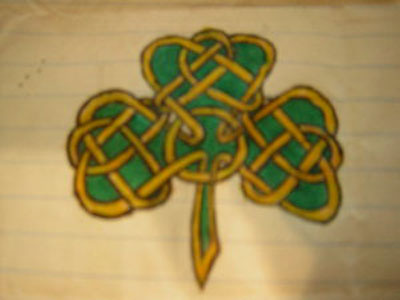 celtic shamrock tattoos celtic clover tattoos