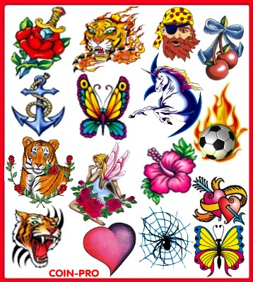 Tribal, Celtic Temporary Tattoos – widest selection of designs for exotic