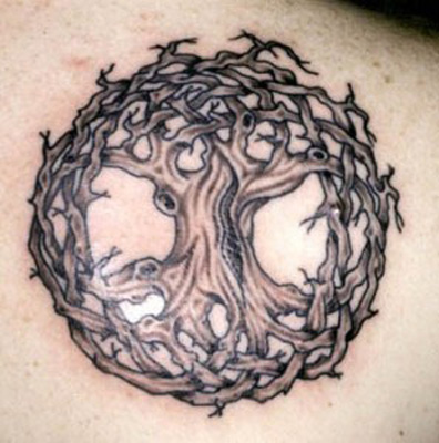 tree tattoos. tree of life tattoos.