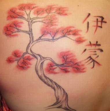 chinese cherry blossom tattoos